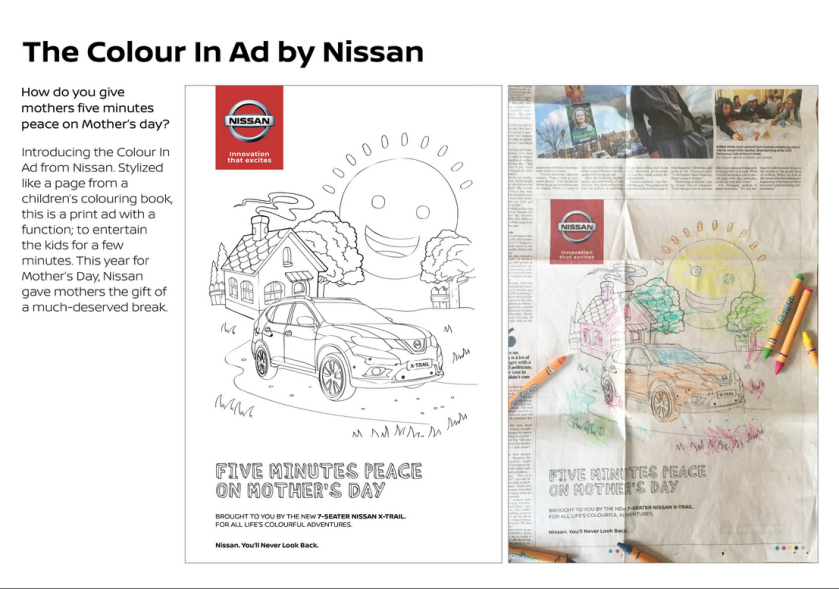 Nissan Mothers Day Ad