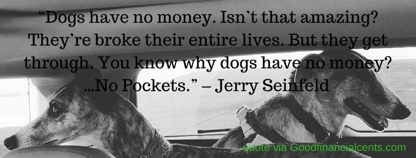Entrepreneurs, Dogs, Money, and a NewSemester